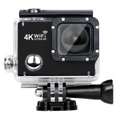 XANES T4 Allwinner V3 4K WiFi Sports Camera Diving DV 173° Wide Angle 2.0 LCD HD 40M Waterproof