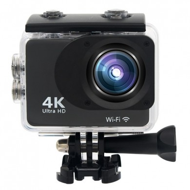 XANES K2T 4K 1080P Wifi 2.0 Touch Screen 16 Million Pixels 170° Wide Angle Sports Camera WDR Wide Dynamic 30M Waterproof Shockpr