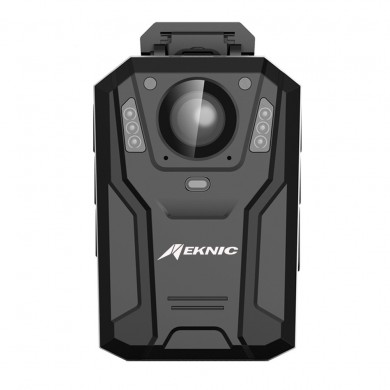 EKNIC DSJ-Q7 1296P 150° View HD Night Vision Police Body Security Camera Laser Position Torch IP76 Motion Detection Driving Reco