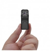 PINZE PD6 HD 1080P Mini Camera Vlog Camera for Youtube Recording Infrared Night Vision 140° Wide-angle Recorder Police Camera An