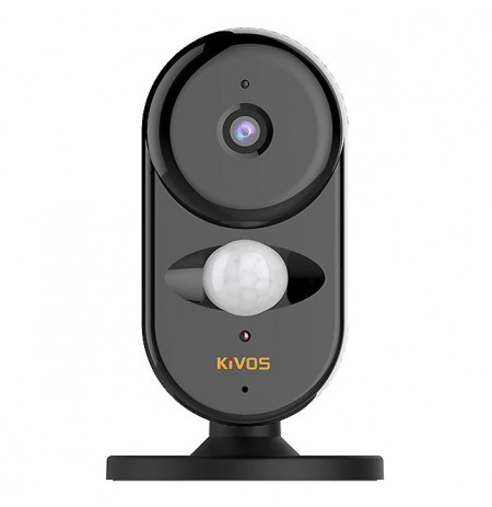 KiVOS KVA007 Mini Wifi Camera 720P HD 130° Wide View App Control IR Distance Wireless Alarm Lifelogging Camcorder