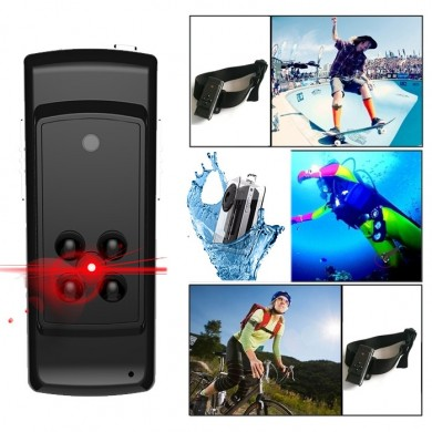XANES S2 HD 1080P Mini Camera Vlog Camera for Youtube Recording 12 Million Pixels Infrared Night Vision Lifelogging Camcorder We