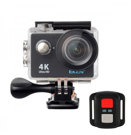EKEN H9R Sport Action Waterproof Camera 4K Ultra HD 2.4G Remote WiFi sans fonction de diffusion en direct