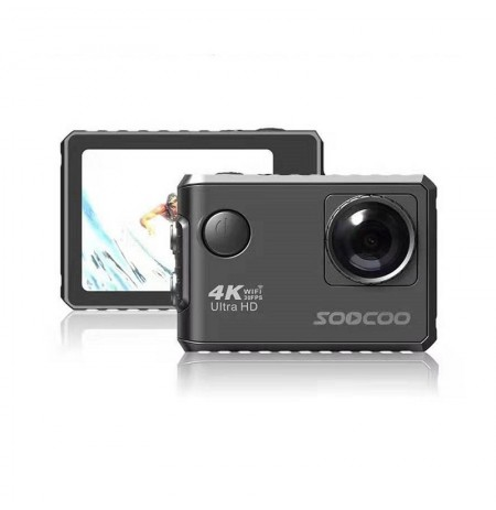 SOOCOO F500 4K WIFI Action Sport Camera Ultra HD Waterproof Underwater DV Camcorder