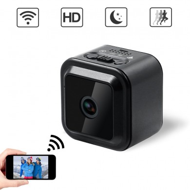 814B HD WiFi Night Vision Mini surveillance à distance sans fil grand angle DV Sport Caméra