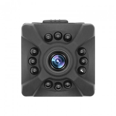 X5 Compact HD Lens Infrared Night Vision Sport Camera Vídeo de resolução múltipla