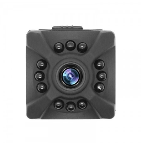 X5 Compact HD Lens Infrared Night Vision Sport Camera Multiple Resolution Video
