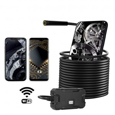 Y13 Wifi Borescope 8mm lens Diameter Resolution: 1920*1080 Hard Wire 3.5/5/10M Optional