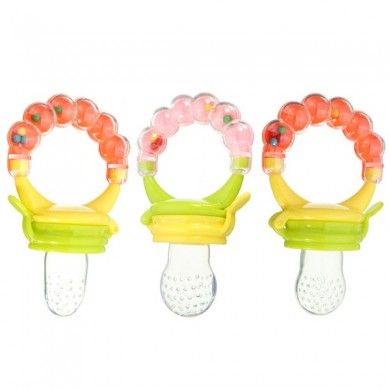 Baby Kids Nipple Fresh Food Paste Nibbler Feeder Feeding Tool Safe Baby Supplies
