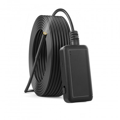 F220 5.5mm 5 Million Pixels WIFI Borescope Hard Wire Support IOS Android with 6 Adjustable LEDS