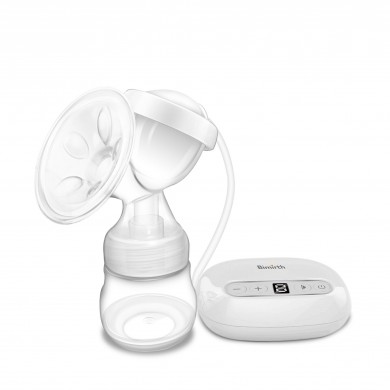 Bimirth Portable Mini Electric Breast Pump Set Nipple Milk Bottle Sucking Automatic Massage Breast