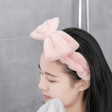 XIAOMI Jordan&Judy Adjustable Hair Band Make Up Skin Care Soft Elastic Headwear Home Office Travel