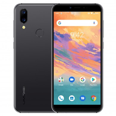 UMIDIGI A3S Global Bandes 5,7 pouces HD + Android 10 3950mAh 16MP + 5MP + 13MP Caméras 2GB RAM 16GB ROM MT6761 4G Smartphone