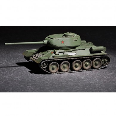 Trumpeter 1:72 Russian T-34/85 DIY Assembled Tank Static Model Building Set