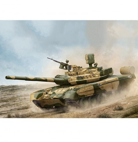 Trumpeter 1:35 Russia T-80UM-1 DIY Assembled Main Battle Tank Static Model Building Set
