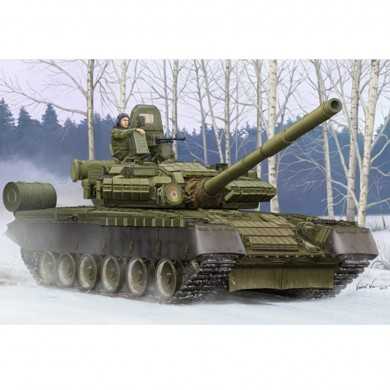 Trumpeter 1:35 Russia T-80BV DIY Assembled Main Battle Tank Static Model Building Set