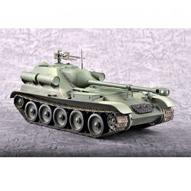 Trumpeter 1:35 Soviet Union SU-102 DIY Assembled Tank Destroyer Static Model Building Set
