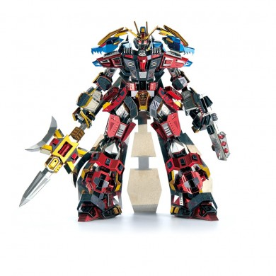 Microworld LYU BU Warrior 3D Metall Bausatz