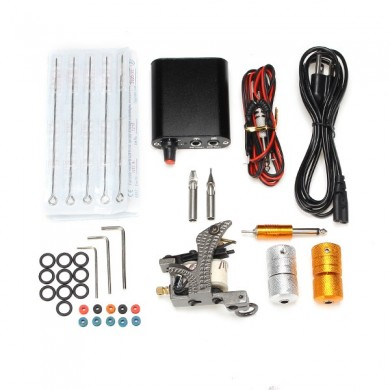 Practical Tattoo Mechine Kits Mini Power Supply Professional Set