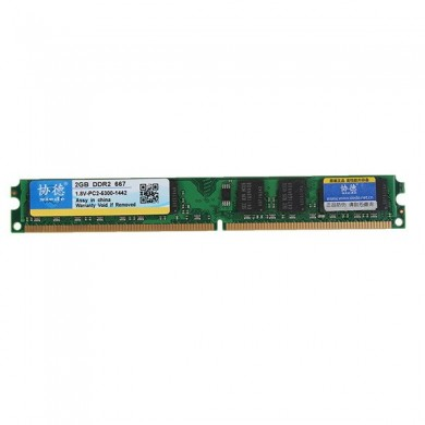 Xiede 2GB DDR2 667MHz PC2 5300 DIMM 240Pin For AMD Chipset Motherboard Desktop Memory RAM