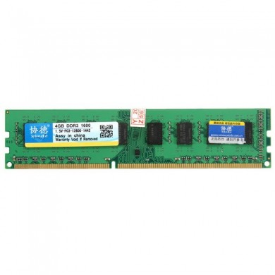 Xiede 4GB DDR3 1600Mhz PC3-12800 DIMM 240Pin For AMD Chipset Motherboard Desktop Memory RAM