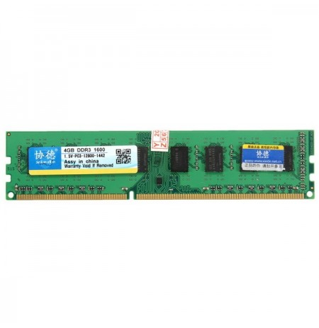 Xiede 4GB DDR3 di 1600MHz PC3-12800 DIMM 240pin per chipset AMD scheda madre desktop di ram