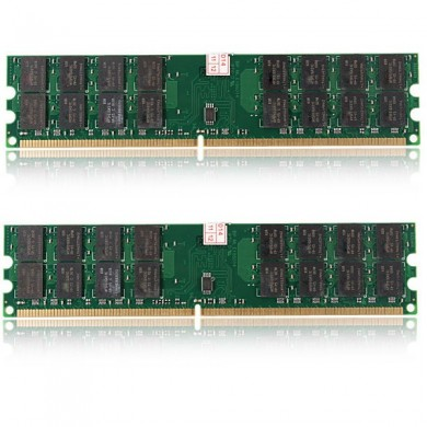 8gb 2x4GB DDR2 800mhz PC2-6400 240 pinos motherboard desktop pc amd memória