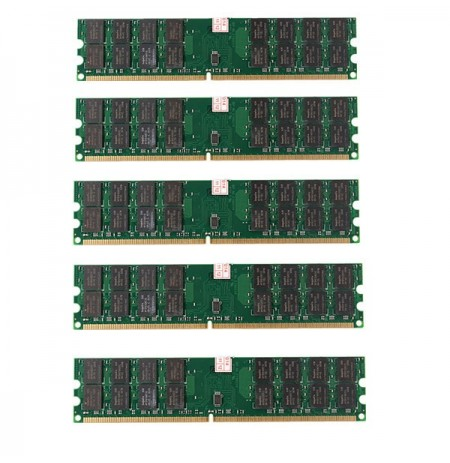 5 pc 4gb ddr2 800mhz PC2-6400 a 240 pin PC desktop memoria motherboard amd