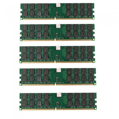 5 PCS 4GB DDR2 800MHZ PC2-6400 240 Pins Desktop PC Memory AMD Motherboard