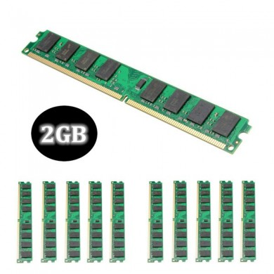 10PCS 2GB DDR2-800MHz PC2-6400 240PIN DIMM AMD Motherboard Memory RAM
