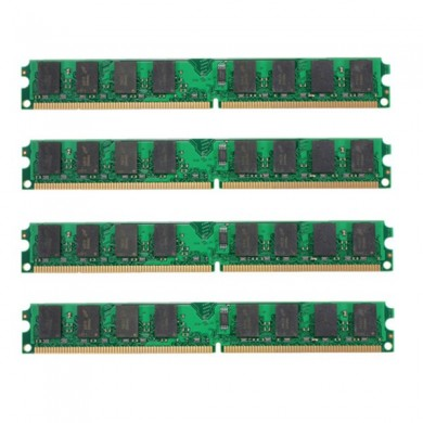 4pcs 2gb ddr2-800mhz PC2-6400 240pin dimm madre memoria ram amd