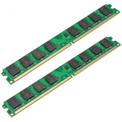 2pcs 2gb ddr2-800mhz PC2-6400 240pin dimm madre memoria ram amd