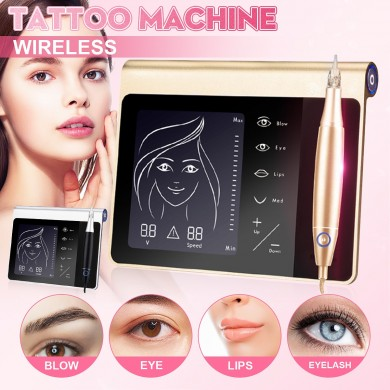 Permanent Makeup MTS Machine & Tattoo Digital Eyebrow Lip Eyeliner Microblading
