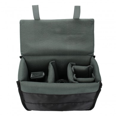 Insert Padded Cámara Bolsa DSLR divisor plegable interior Partition Protect Caso