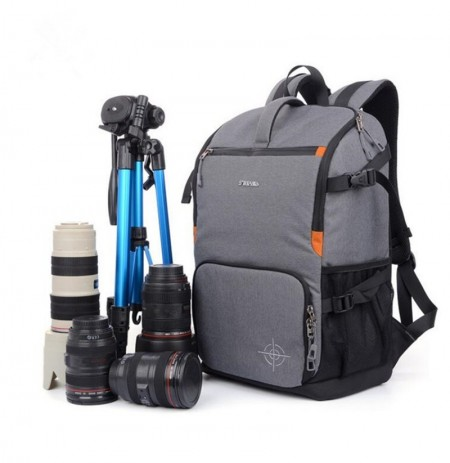 Multifuncional Anti choque Mochila Fotografia Oxford Travel DSLR Camera Bolsa