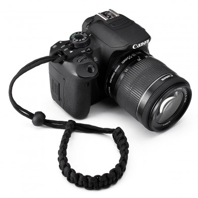 Handmade Weaver Paracord Camera Wrist Strap Bracelet For Camera Binocular