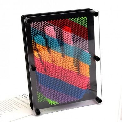 3D Stereo Hand Model Candy Colorful Change Needle Painting Novelties Toys