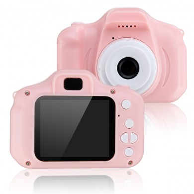 Children's Camera Toys Waterproof 1080P HD Screen Camera Video Toy 8 Million Pixel Kids Cartoon Cute Camera Outdoor Photography