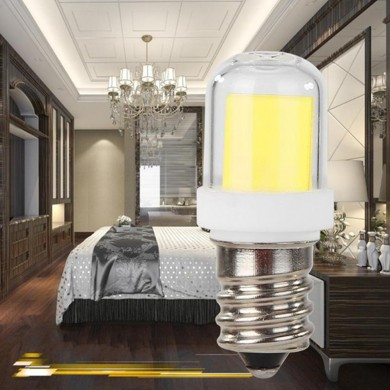 E12 1511 COB 5W 450LM Dimmbare Energiesparlampe LED für Kronleuchter im Home-Office-Bereich
