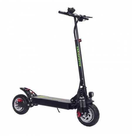 LANGFEITE L8S 2019 Version 48.1V 20.8Ah 800W*2 Dual Motor Folding Electric Scooter Color Display DC Brushless Motor 45km/h Top S