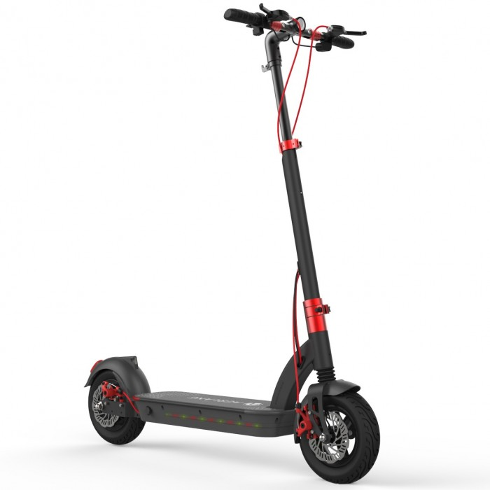 Aerlang H6 500w 48v 17 5a Folding Electric Scooter 10inch 40km H Top Speed 50 60km Mileage Range Max Load 120kg Two Wheels Elec