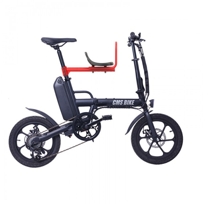 Cmsbike Detachable Baby Bicycle Safety Seats Bike Front Seat Chair