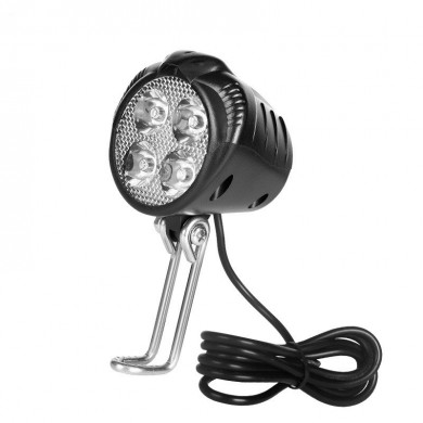 Fanale anteriore per bici da 30W Super luminoso impermeabile Mountain Bike Light con clacson