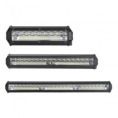 9 polegadas 13 polegadas 19 polegadas 6D Slim Single Row Spot Beam LED Barra de luz de trabalho Off-Road Waterproof