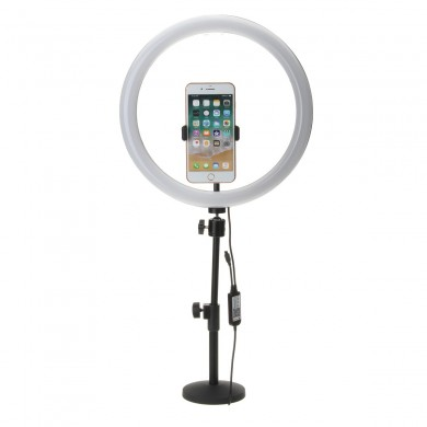 13 Inch RGB regulable LED Video Ring Light Selfie Lámpara para Cámara Maquillaje Youtube Live