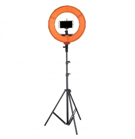 12 Inch Regulable LED Video Ring Light con Difusor trípode Stand Holder para Youtube Tik Tok Live Streaming