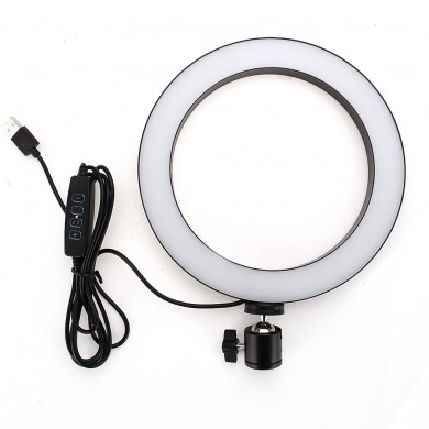 Yingnuost 20CM 3500-5500k Video Ring Light para Tik Tok Youtube Transmisión en vivo