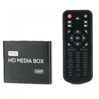 HD 1080P HDD Car Multi-Media AV Advertising Player