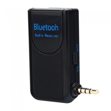 Bluetooth Audio AUX Receiver Connect Speaker Phones for Car Home