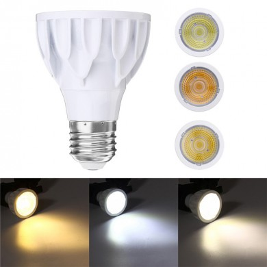 E27 7W Super Bright Dimmable Par 20 LED COB Spot Ampoule Lampe Epistar AC220V